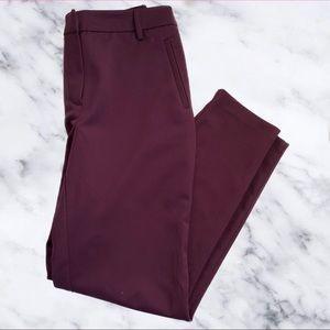 Forever 21 Women's Maroon Dress Pants